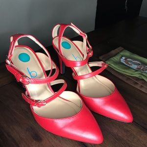 NEW with box Baker red heels Size 5.5